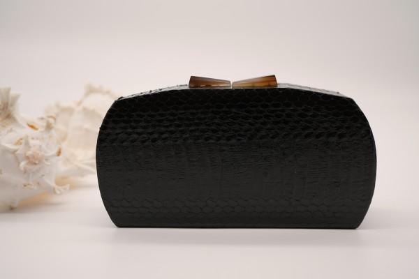 Minaudière Clutch bag - Glossy Black